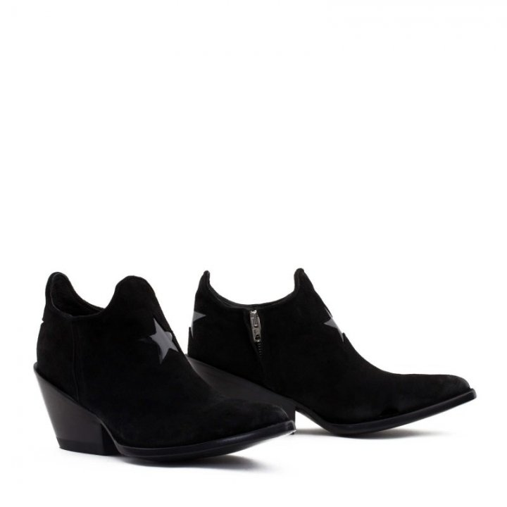 PURA STAR 3'' Black Suede /...