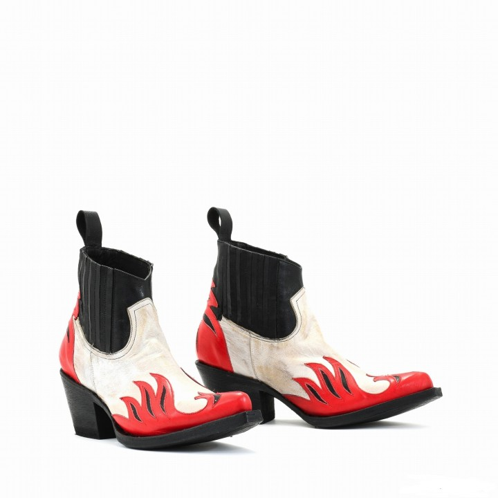 DANDY BONE BLACK RED