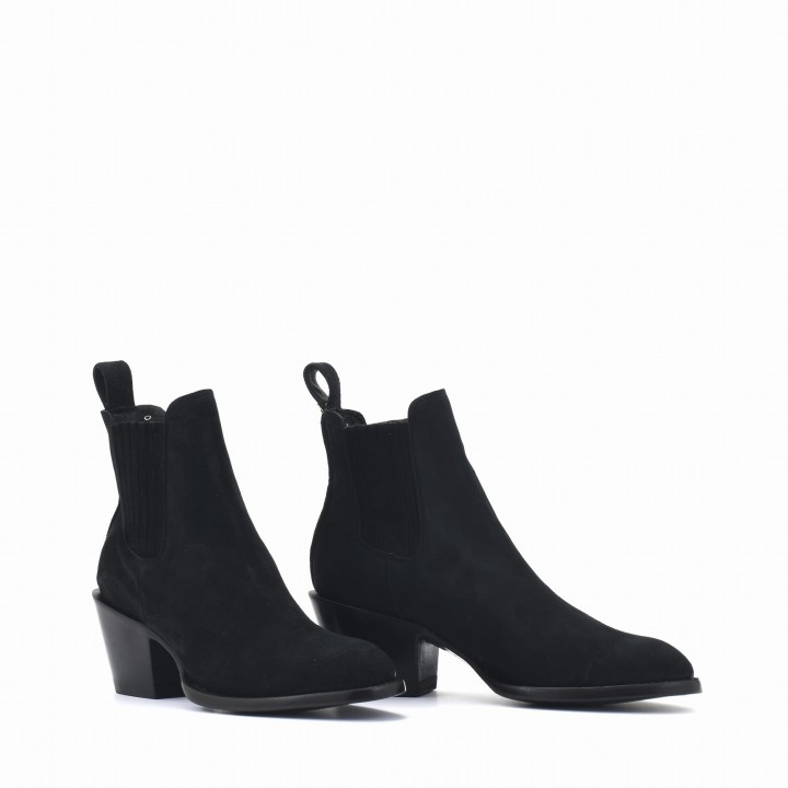 ESTUDIO BLACK SUEDE