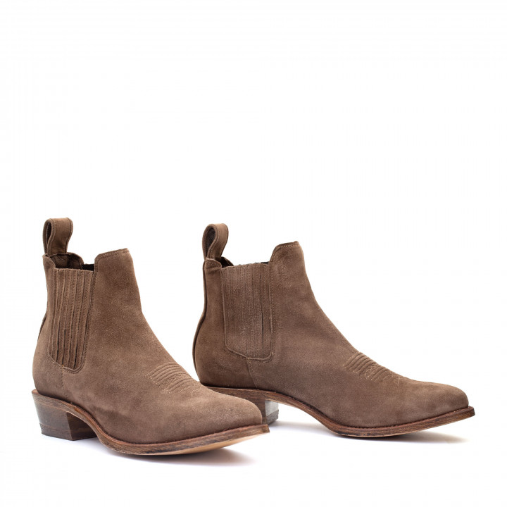 ESTUDIO BIS BROWN SUEDE