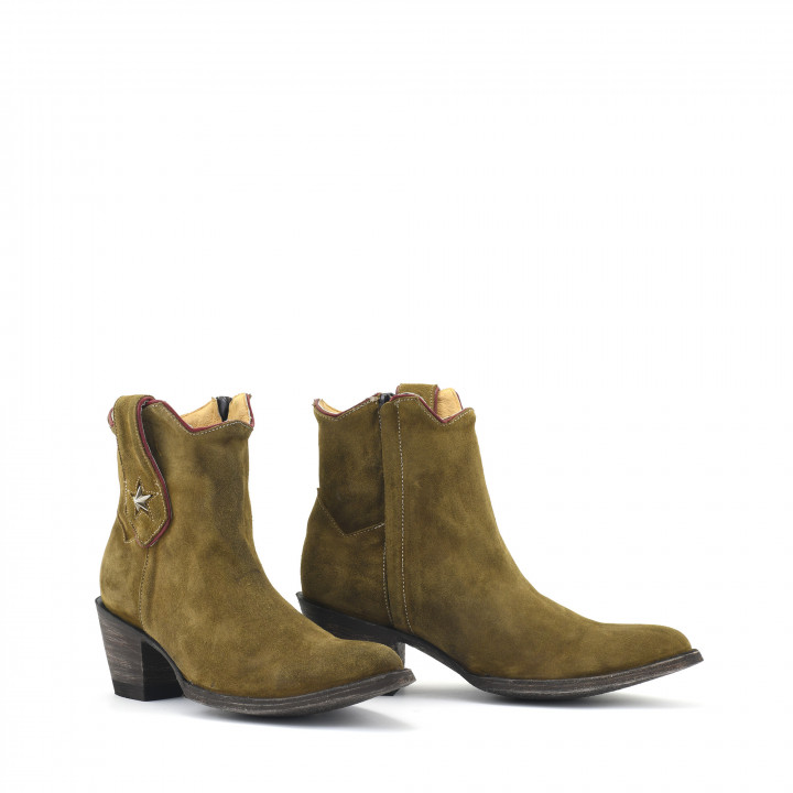 TATIS PLAIN NEW CAMEL SUEDE