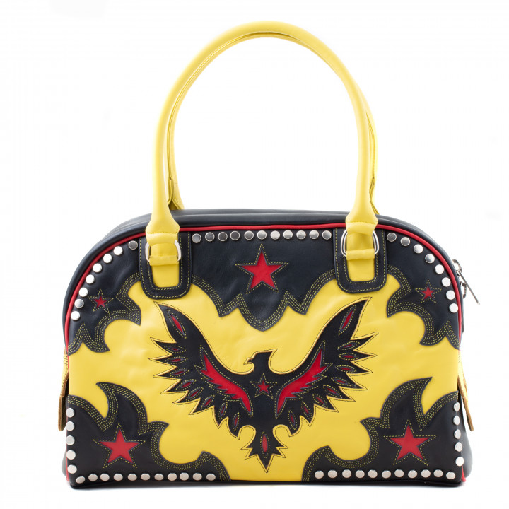BAG DAY EAGLE YELLOW BLACK RED