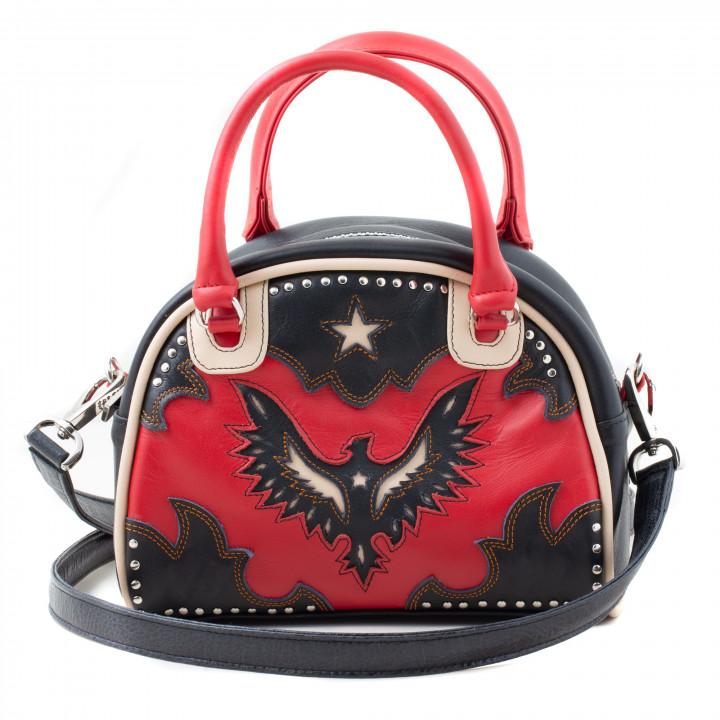 BOWLING BAG AIGLE RED BLACK...